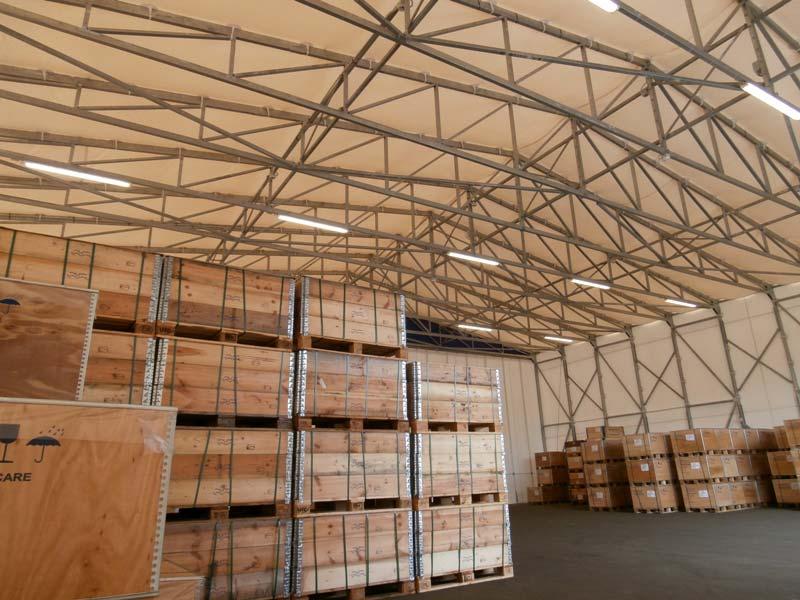 capannone mobile tunnel hangar vicenza stoccaggio