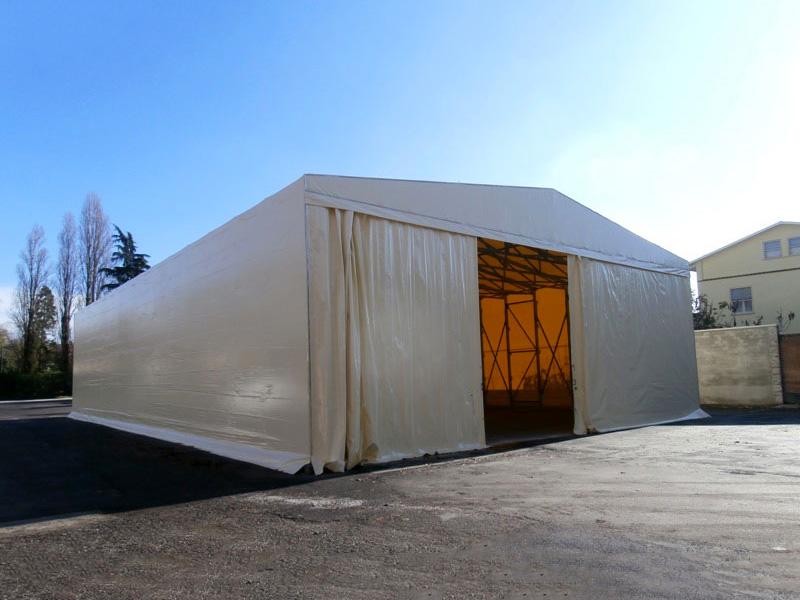 parete mobile semi aperta